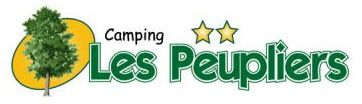logo client camping les peupliers